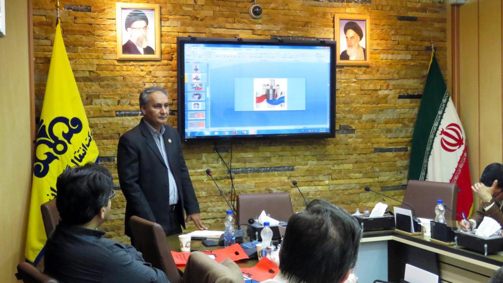 برگزاری سمینار معرفی شیرهای کنترلی صنعتی در سالن جلسات شرکت انتقال گاز ایران